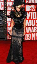 Gaga vma09 looks6