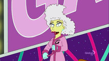Lisa Goes Gaga Bathrobe