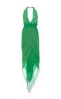 Halston - Kelly Green dress