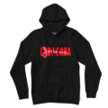 JTW Merch neon black pullover hoodie
