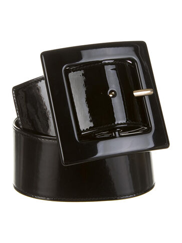 File:YSL - Patent leather belt.jpg