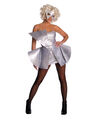 Silver Sequin Dress Costume