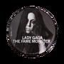 The Fame Monster vinyl back