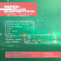 PAPER x Club Quarantine Zoom Party Poster