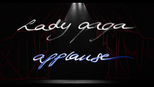 Lady Gaga applause card