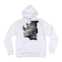 JTW Merch Rhino White Hoodie