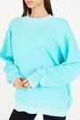 Cotton Citizen - Brooklyn aquamarine crew neck sweater