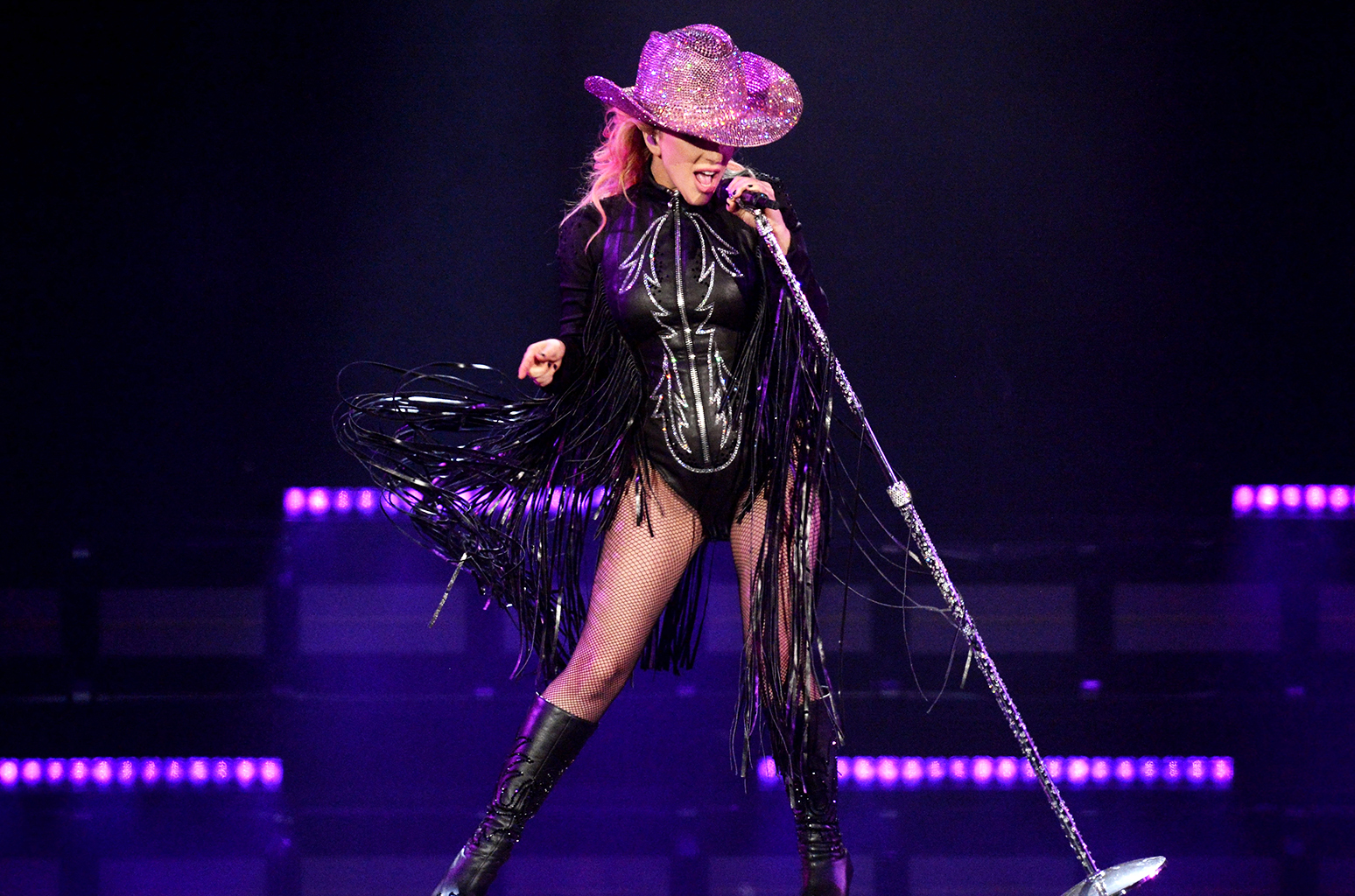 Lady Gaga Joanne World Tour Gif