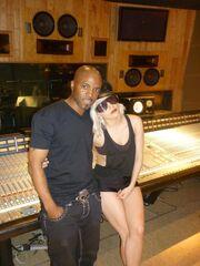 Lady Gaga and Teddy Riley