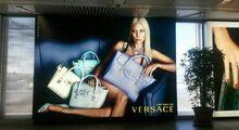 Versace Spring-Summer 2014 Campaign Billboard 001