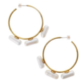 Lucy Folk - Pill popper hoop earrings