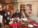 4-1-14 At Joanne Trattoria Restaurant in NYC 001