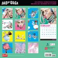 Lady Gaga Official 2015 Calendar (Back)