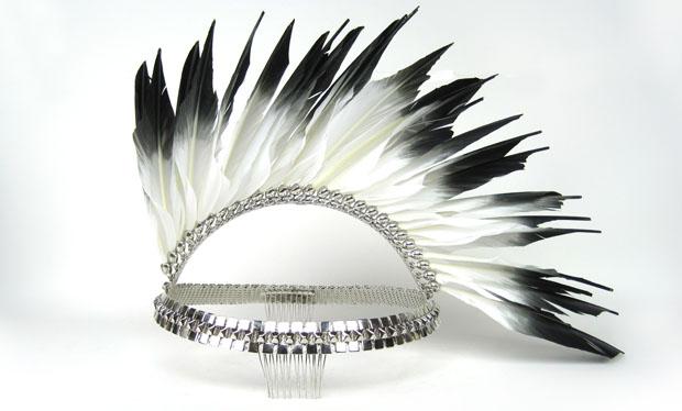 File:Erickson Beamon - Feather Mohawk headpiece.jpg