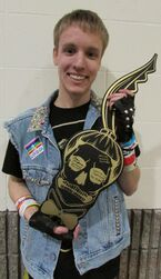 The Born This Way Ball Monster pit key holder 1-14-13