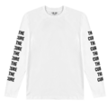 The Cure Merch white long sleeve