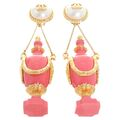 Chanel - Vase earrings
