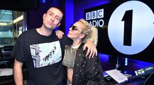 9-9-16 At BBC Radio 1's Breakfast Radio Show With Nick Grimshaw 001