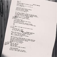 Million Reasons Lyric Instagram 5 10 2016