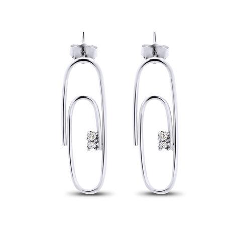 File:Lauren Klassen - Gold diamond paperclip stud earring.jpg