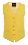 Marc Jacobs - Stitched wool fitted vest