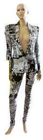 Haus of Gaga Sun Headlines Suit