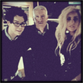Gaga, Garibay and Cooper during 60 minutes interview