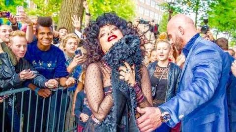 Lady Gaga in Amsterdam.