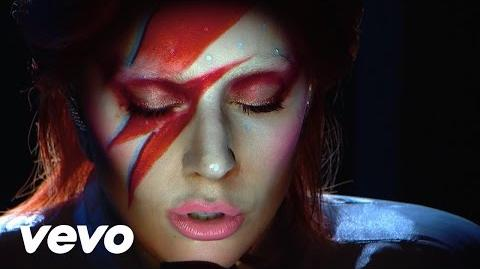 Lady Gaga - David Bowie Tribute by Lady Gaga From The 58th GRAMMYs