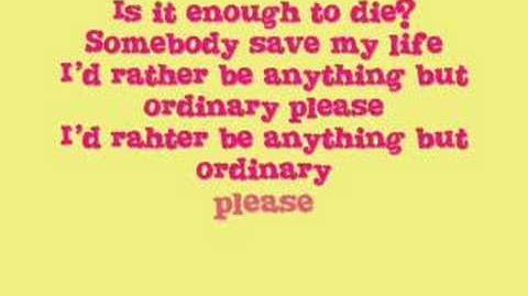 Anything But Ordinary by Avril Lavigne(With Lyrics in Video)-0
