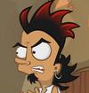 Gaspar enojado