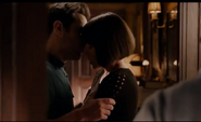 Antman kiss off screen