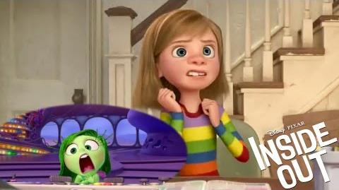 INSIDE OUT - Get to know your emotions Disgust (2015) Pixar Animated Movie HD