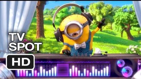 Despicable Me 2 TV SPOT - Village Minions (2013) - Animated Sequel HD