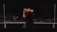 Mr. Fantastic invisible woman kiss