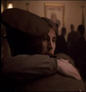 Cap and bucky hug