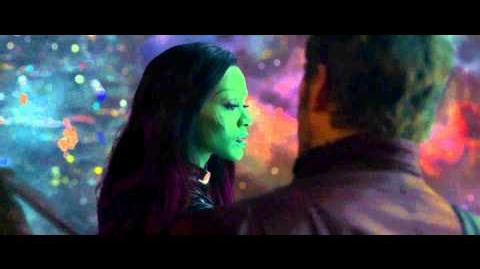 Guardians of the Galaxy - Gamora and Star Lord on Knowhere