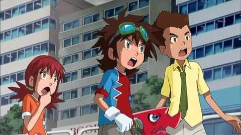 Digimon Fusion Episode 30 - A Brand New Journey! - English Dub (Xros Wars)