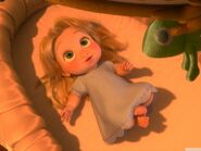 Baby rapunzel-Tangled 2010 animated wallpaper 1280x960