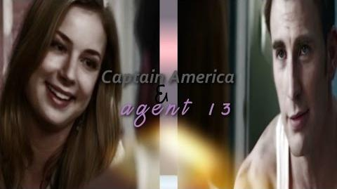 Captain America & Agent 13 - Steve Rogers and Sharon Carter ~~ I won't turn my back on you