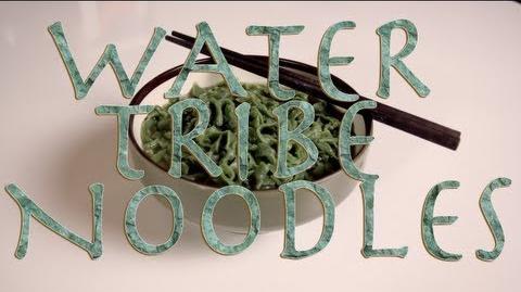 WATER TRIBE NOODLES, Legend of Korra, Feast of Fiction S2 Ep3