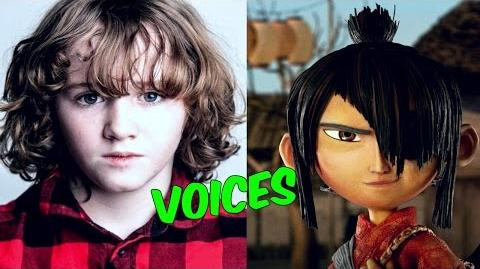 Kubo and the Two Strings cast & voices Behind the scenes ✔
