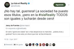 Criticas sobre los nombres la isla 2017