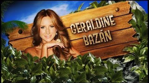 Geraldine Bazán - Presentación de LA ISLA-Presentacion Geraldine la isla 2013