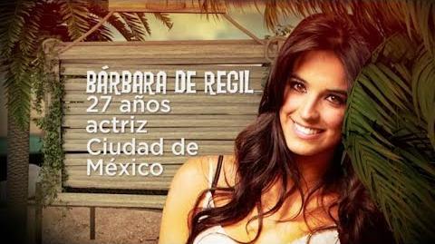 Bárbara de Regil en La Isla- Presentacion Barbara la isla 2014
