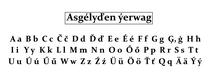Эсгельдская азбука