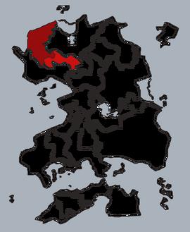 Вилезия на карте