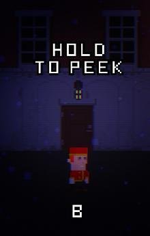 Hold to peek