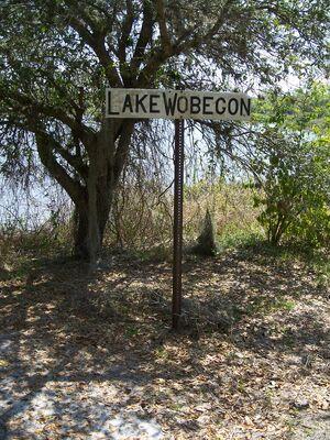 Ortona FL Lake Wobegon sign01