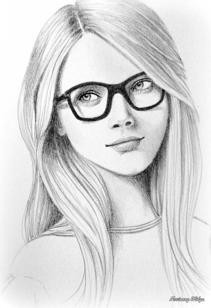 Cool sketch ideas image result for simple pencil sketches of faces step step jpg